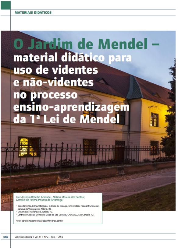 O Jardim de Mendel