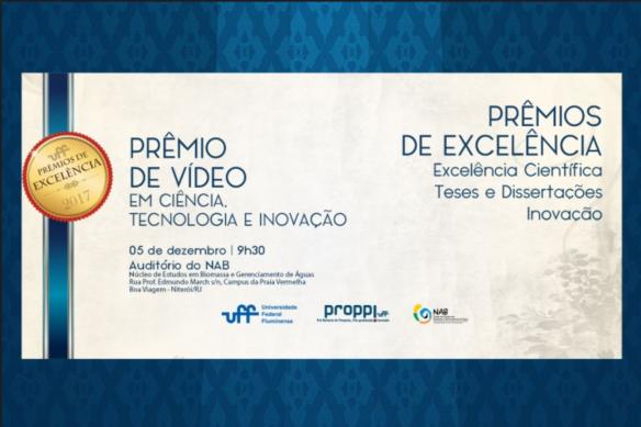 Prêmios de Excelência UFF 2017
